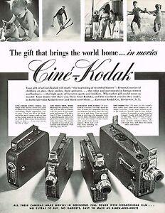 1930s-BIG-Original-Vintage-Cine-Kodak-Movie-Camera-Photo-Print-Ad