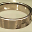 thumbnail 4 - Men's Stainless Steel Band Ring Cubic Zirconia  Sizes 12 13
