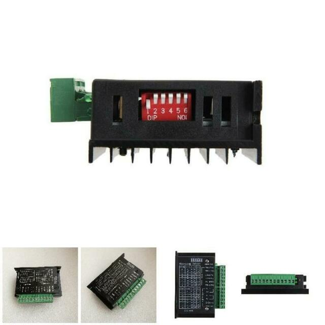 CNC SingleAxis TB6600 4A CNC Two Phase Hybrid Stepper Motor Driver Controller