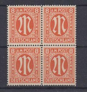 AM-Post-Englischer-Druck-14-A-y-Viererblock-geprueft