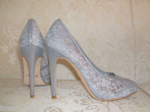 Image Is Loading Size 3 5 6 7 8 Silver Grey
