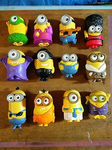 McDonalds Minions Happy Meal Toys 2015 FULL SET 1-12 | eBay
