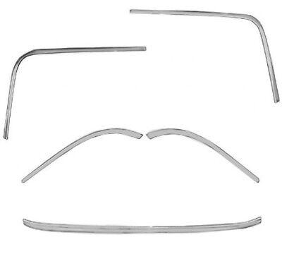 1963-64 Chevrolet Impala Windshield Molding Kit 5 Piece