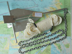 Danforth-type-4-5Kg-Anchor-Package-made-to-order-Yacht-Canal-Fishing-Boat-Rib