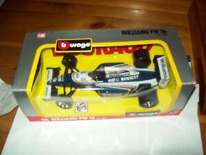 BURAGO-F1-Williams-FW16-Hill-scala-1-24