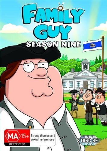 1 of 1 - Family Guy : Season 9..REG 4..NEW & SEALED   dvd180
