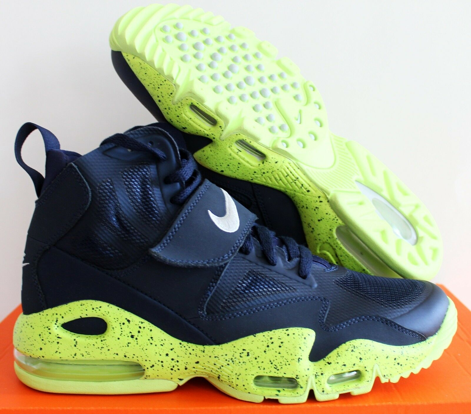 NIKE AIR MAX EXPRESS MIDNIGHT NAVY BLUE-VOLT Price reduction