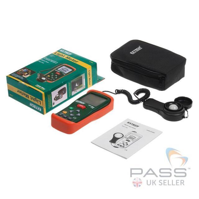 Extech LT300 Light Meter LCD Screen / UK Stock