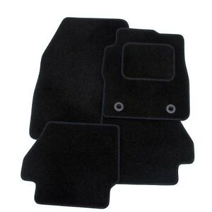RENAULT-TWINGO-2007-2014-TAILORED-FLOOR-CAR-MATS-CARPET-BLACK-MAT-BLACK-TRIM