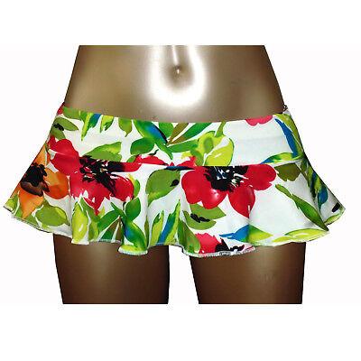 Liefern Ladies Girls Erotic 6 Inch 15 Cm Extra Short Micro Mini Skater Skirt 4 To 20 SchöN Und Charmant
