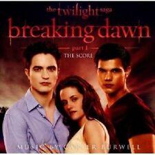 BREAKING DAWN-PART1-TWILIGHT SAGA (THE SCORE) CD NEU