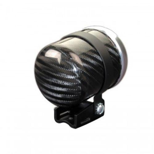 "2-5//8/"" For Elec Gauge Auto Meter 2151 Carbon Fiber Pedestal Mounting Cup"