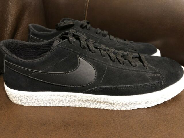 best authentic ab9b3 0420a NEW! Nike Mens Blazer Low Black Shoes Sneaker Men's SIZE 10 (371760-024)  White