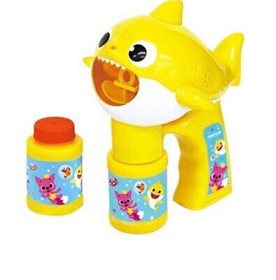 Pinkfong Baby Shark Family Bubble Gun Blasenspielzeug Koreanisches Lied Melody Reines Und Mildes Aroma