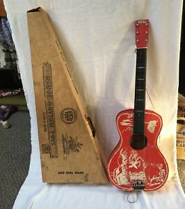 vintage-1950s-21-Roy-Rogers-guitar-w-original-box-Rich-Toys-Range-Rhythm-Toys