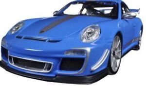 Porsche-911-GT3-RS-4-0-Azul-1-18-Escala-Maisto-Special-Edition-nuevo-en-la-caja
