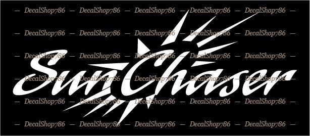 CAR//SUV Vinyl Die-Cut Peel N/' Stick Decals Outdoor Sports Hurricane Boats