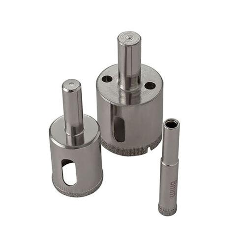 Diamond Holesaw 3mm~38mm Tile Ceramic Porcelain Glass Marble Drill Bit Cutter