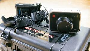 Details about Blackmagic Production Camera 4K (EF Mount) - 5 DS cine lens  Rokinon +Extras