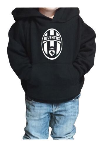 Fm10 Hooded Sweatshirt Child/a Juventus Logo Championship Juve Football Sport