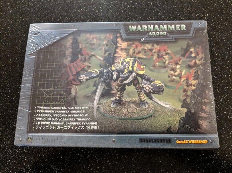 Warhammer 40k Tyranid Carnifex - Old One Eye - New Metal & Plastic 2001