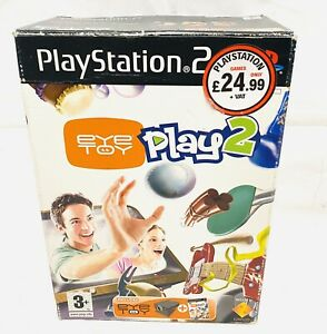 PlayStation-2-PS2-Eye-Toy-Play-2-amp-Camera-Boxed-amp-Complete