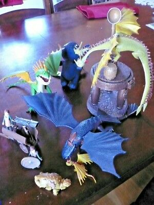 How To Train Your Dragon 2010 Lot Series1 Toothless Nadder Gronkle Zippleback Ebay