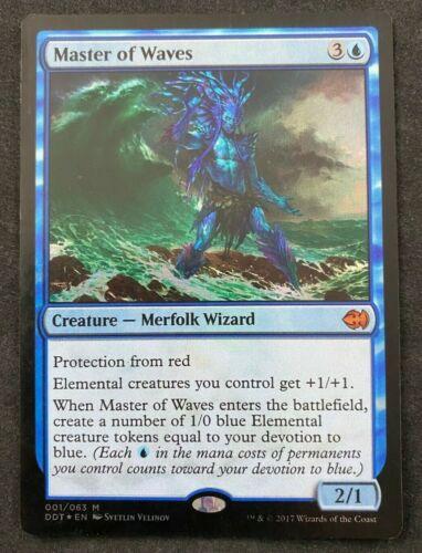Goblins HP Merfolk Vs MTG Magic The Gathering FOIL Master of Waves Duel Deck