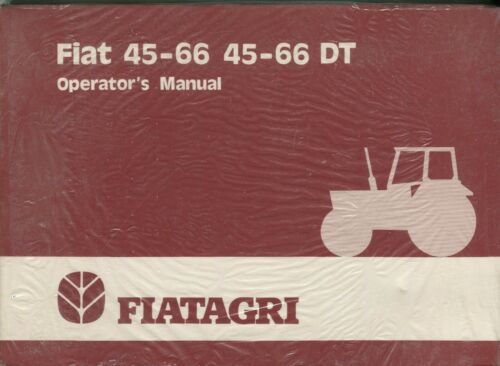 Media Fiat 45-66 45-66 DT Operator's Manual Manuals