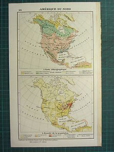 Population Density Map Of North America.1921 Map North America Ethnographic Population Density Mexico