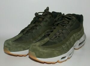 Details about Nike Air Max 95 SE Olive Canvas Gum Mens Running Shoes AJ2018 300 Sz 10.5 $160
