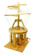 Leonardo Da Vinci Helicopter: Pathfinders Wood Construction Model Kit Age 9+