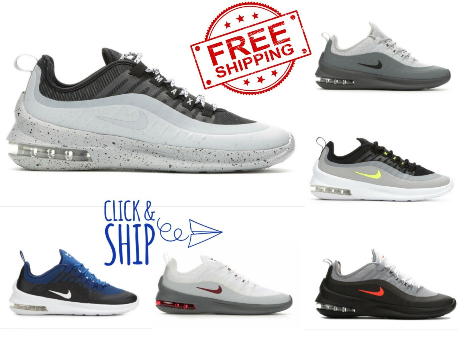check out ec1fd faad9 Men s Nike Air Air Air Max Axis Running shoes Invigor Torch Sequent Reax  Sneakers Retro 9b030c