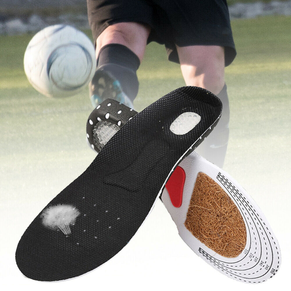 HK- AB_ Gel Orthotic Sports Running Insoles Insert Shoe Pad Arch Support Cushion Clothing & Shoe Care