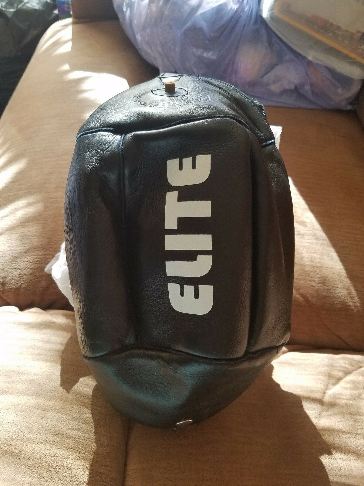 Amber Boxing Elite Leather Speed Bag 9