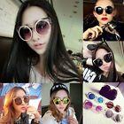 Chic Charm Lady Cat Eye Ear Shades Metal Lens Reflective Sunglasses Eyewear New