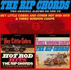 Hey Little Cobra and Other Hot Rod Hits & Three Window Coupe * by The Rip Chords (Surf) (CD, Feb-2010, T-Bird Records)