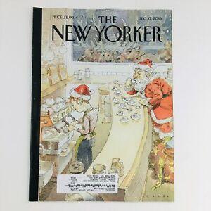 The New Yorker December 17 2018 Full Magazine Theme Cover by John Cuneo VG