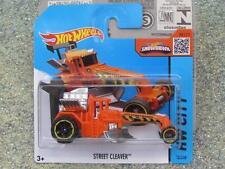 Hot Wheels 2015 #010/250 STREET CLEAVER orange HW City CASE J