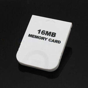 New-16MB-White-Memory-Card-for-Nintendo-GameCube-Wii-Game-System-Console-hot