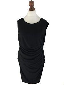H M Kleid Xl Kofferkleid Schwarz Business Cocktailkleid Dress Neuwertig Ebay