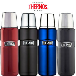 Thermos Stainless King Flask Vacuum Insulated 470ml//1.2L Metallic Blue