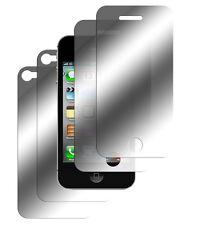 4 x iPhone 4 4S Spiegelfolie Schutzfolie Mirror 2x Vorder- + 2x Hinten Folie