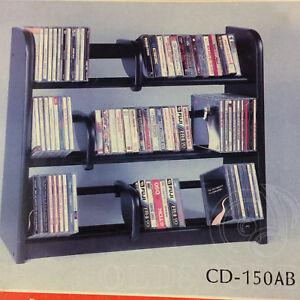 LESLIE-DAME-ENTERPRISES-CD-150-AB-SUPER-COMBO-PORTA-CD-CASSETTE-VIDEOCASSETTE