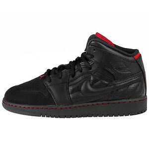 8ba1004a9aac Nike Air Jordan 1 Retro 99 BG 654962 001 GS Youth Big Kid Black 6Y ...