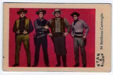 1960s Swedish Film Star Card Bilder A #84 Bonanza Western Family Cartwright Bros