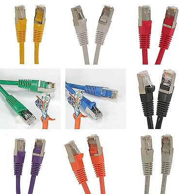 100 Pack Lot 3ft CAT5e Ethernet Network LAN Patch Cable Cord 350 MHz RJ45 Red