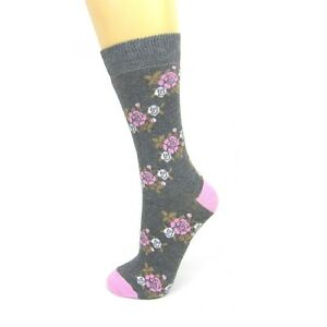 Cotton-Rich-Country-Floral-Ankle-Socks