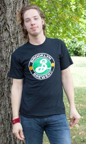 Brooklyn Brewery Classic Logo Graphic T Shirt Black