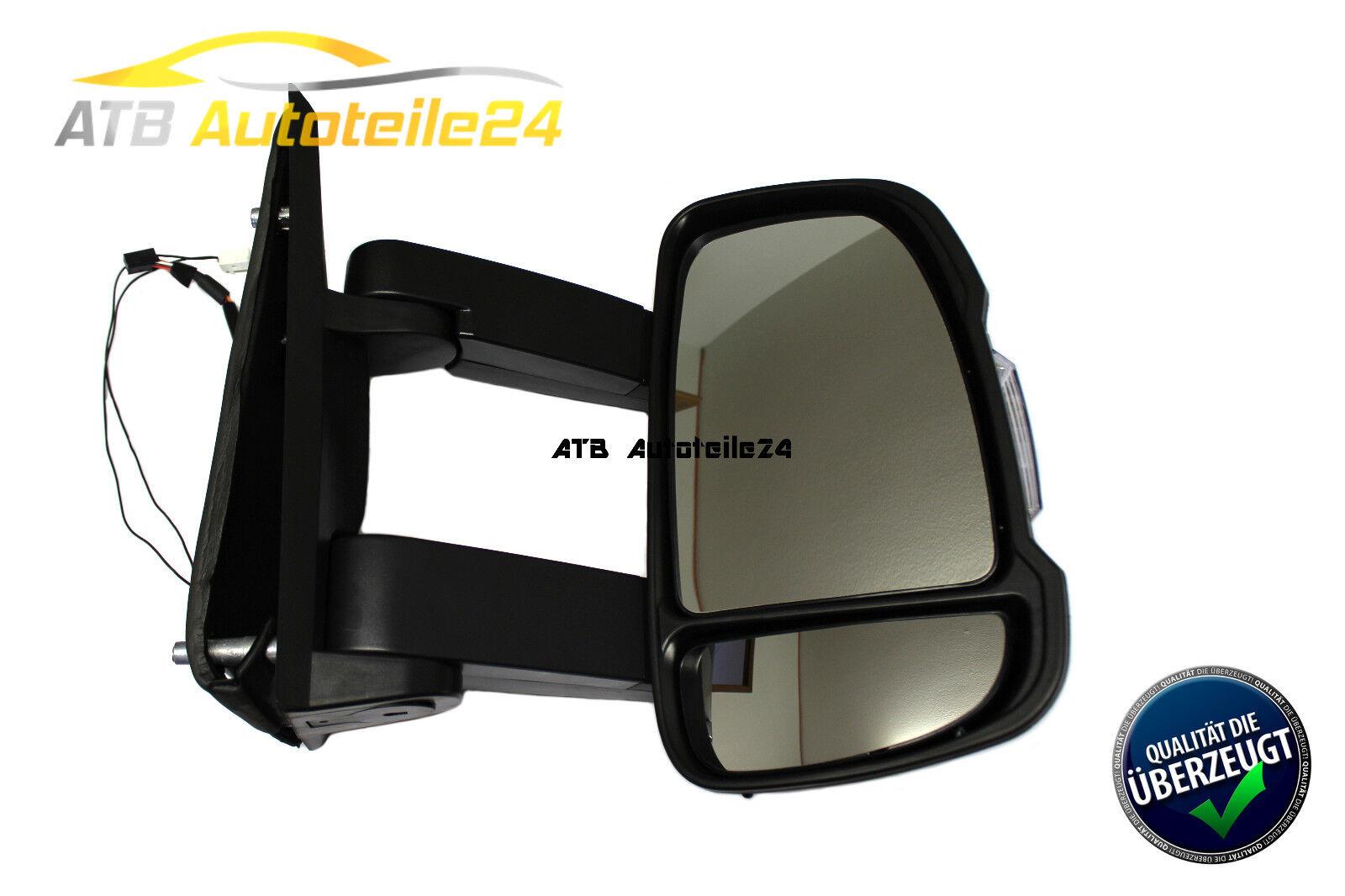Espejo derecho para Citroen Jumper 230 244 eléctricamente ancha Fiat Ducato Boxer